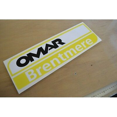 Omar Brentmere Static Caravan Sticker Decal Graphic - SINGLE