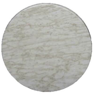 New Restaurant Cafe Outdoor Isotop Table Top Dining 70cm Round Marblelight