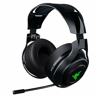 RAZER MANO'WAR Wireless 7.1 CHROMA RGB Gaming Headset RZ04-01490100-R3A1 [f36]