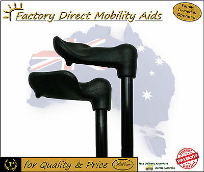 Palm Grip Ergonomic Walking Stick / Cane - Left or right Handed / Top Quality!