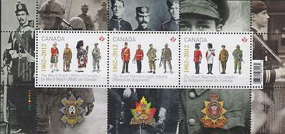 Canada 2012 Souvenir Sheet #2577 The Regiments - MNH