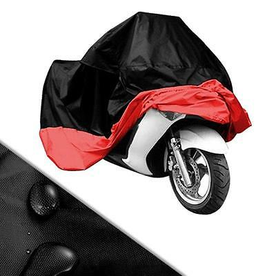 3XL Waterproof Motorcycle Cover BL/RE for Honda Goldwing 1200 1500 1800 F6B