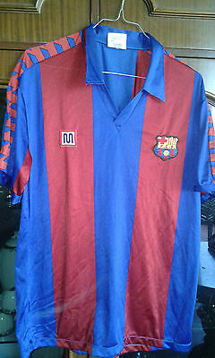 FC Barcelona MEYBA L Camiseta futbol football shirt