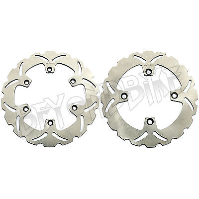 Front Rear Brake Discs Rotors 4 CB 500 97-03 98 99 00 XRV AFRICA TWIN 650 88 89