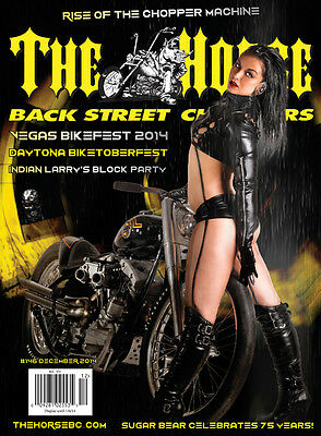 (New) The Horse Motorcycle Chopper Lifestyle Magazine December 2014 #146