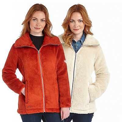 Regatta Haldus Womens Full Zip Fluffy Cosy Hi-Pile Fleece Jacket