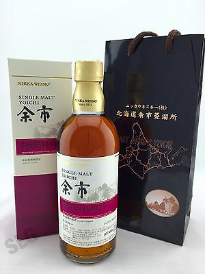 Nikka Yoichi Single Malt Japanese Whisky Sherry & Sweet 500ml 55%. LIMITED!!!