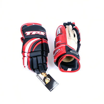TPS HGS3 Summit Glove -  Junior Hockey Glove - Black, Red & White