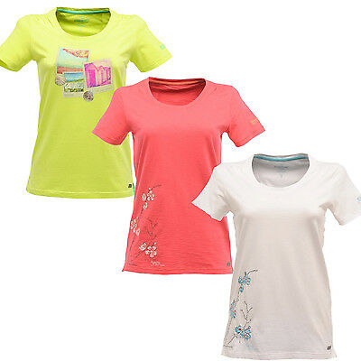 Regatta Summer Wind Womens Lightweight Coolweave Cotton Tee T-Shirt