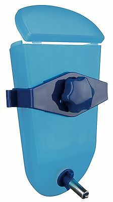 Weather Proof Stainless Blue Plastic Water Bottle Chinchilla Rabbit Cage 500ml