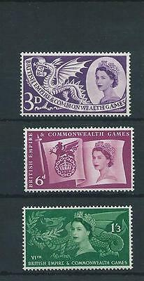 wbc. - GB - COMMEMS - 1958 - COMMONWEALTH GAMES  -  UNMOUNTED  MINT