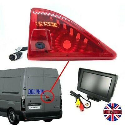 Renault Master Reversing Van Camera Kit With Small Dash Monitor 2010 - Present