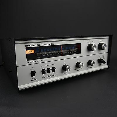 Grommes Precision Model 512 Music Tuner Amplifier  USA - Tech Serviced Tune-up