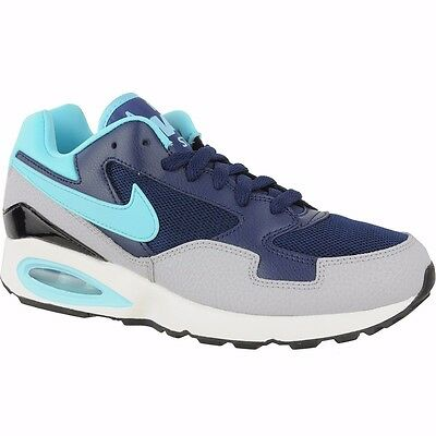 0360d20936c Nike Air Max St Womens Running Trainer Shoe Mid Navy Size 4.5 5 5.5 Rrp £