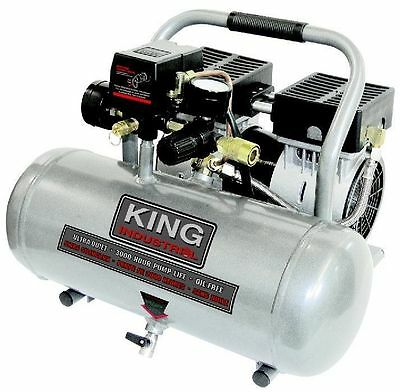 King Canada Tools KC-1620A ULTRA QUIET OIL-FREE AIR COMPRESSOR 1.6 GALLON TANKS