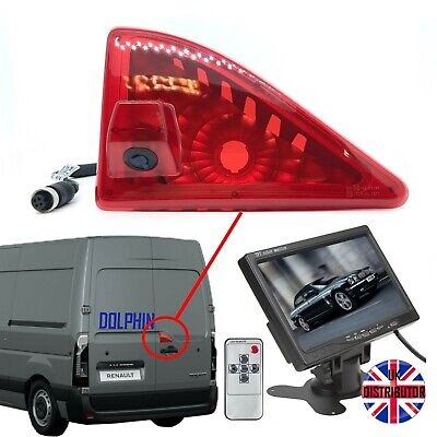 "Vauxhall Movano Reversing Camera Kit With Large 7"" Dash Monitor (2010 - Present)"