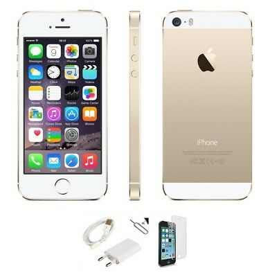 Apple Iphone 5S 16Gb Grado A Gold Oro Originale Rigenerato Ricondizionato