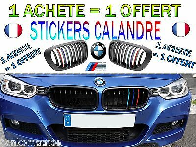stickers calandre pour bmw produit original neuf m sport pack m 1 2 3 4 5 6 chf. Black Bedroom Furniture Sets. Home Design Ideas