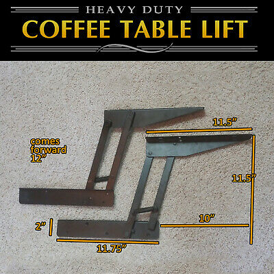 Lift Top Coffee Table DIY Hardware Fitting Furniture Hinge Lift Up E