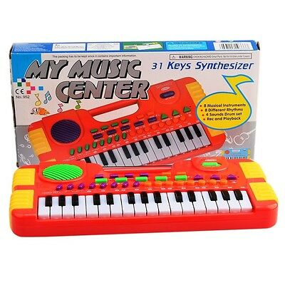 Piano Toy, Finer Shop 31 Key Electronic Educational Piano Music Keyboard Toy for