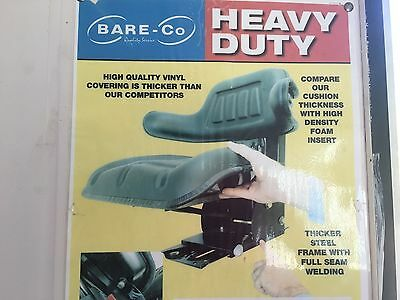 Tractor Seat  Standard Duty Suspension Seat with Backrest