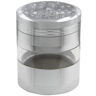 DCOU Large Premium Grade Aluminum Tobacco Spice Herb Weed Grinder 2.5 Inch Fo...