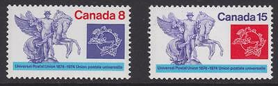 Canada 1974 - #648-49 Universal Postal Union Cent. (Set of 2) MNH