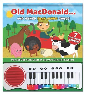 Sing Along Music Book with Electonic Keyboard
