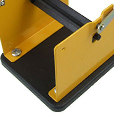Yellow Black Metal Solder Wire Stand Holder Support SI