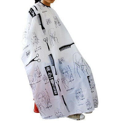 1x Adult Hairdresser Cape Hair Cutting Barber Gown Hair Styling Cloth Salon New