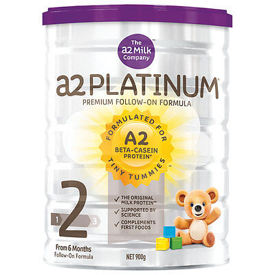 A2 Platinum Premium Follow On Stage 2 900G Baby Formula Milk * Best Price!