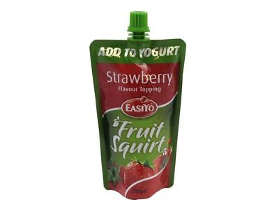 Easiyo Strawberry Pouch Real Fruit Topping Squirt Add To Yogurt Ice Cream Puree
