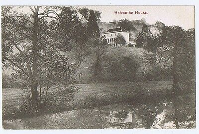 HOLCOMBE HOUSE Unused Postcard Pub by Redman of Nailsworth
