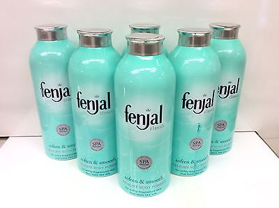 6X Fenjal Soften & Smooth Delicate Body Powder 100g