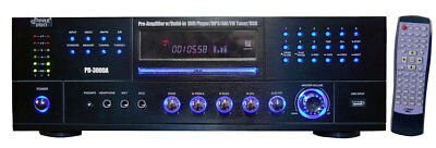 Pyle Audio KV9624B  AM-FM Receiver with Built-In DVD/MP3/USB