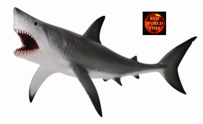 *NEW* GREAT WHITE SHARK (OPEN JAW)SEALIFE MODEL by COLLECTA 88729 *FREE UK POST*