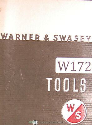 Warner & Swasey Tooling Catalog No. 59C Tool Manual Year (1959)