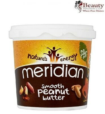 Meridian Smooth Peanut Butter 1kg