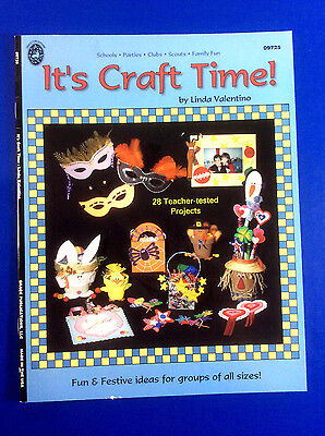 Craft Time Linda Valentino  School Parties Clubs Scouts Family fun