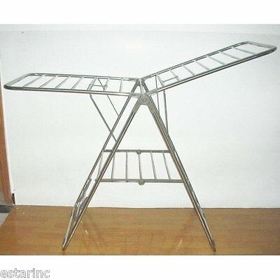Heavy Duty Stainless Steel Foldable Clothes Drying Rack