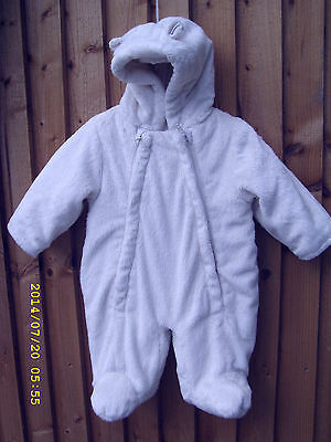 Girls Snowsuit Aged First Size 9 Lbs