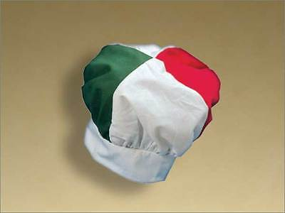 Italian Chef's Hat - Tri-Color Flag - Pizza - New!