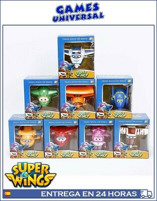 Super Wings trasformables Lote 8 aviones