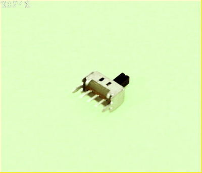 Mini Slide Switch [x5] SPDT PC mount , 2mm pin spacing
