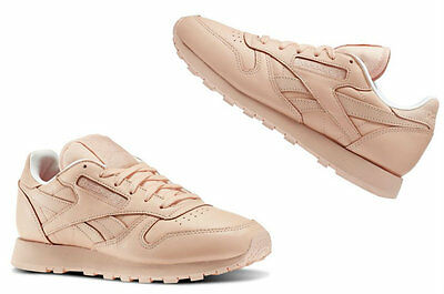 Womens Reebok  X FACE STOCKHOLM CLASSIC LEATHER SPIRIT Modesty / White   V69386