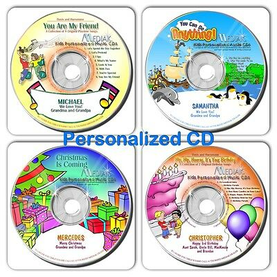 Children's Personalized Music CD