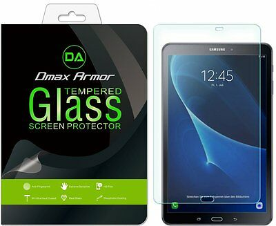 Dmax Armor Tempered Glass Screen Protector Saver for Samsung Galaxy Tab A 10.1