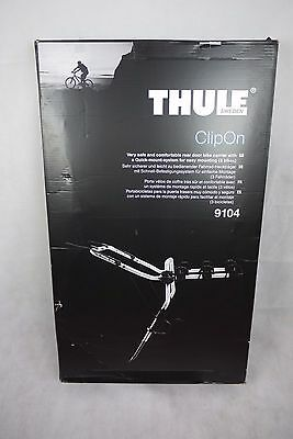 Thule Clipon ( 9104 ) Rear Door Bike Carrier With Quick Mount System for 3 bikes