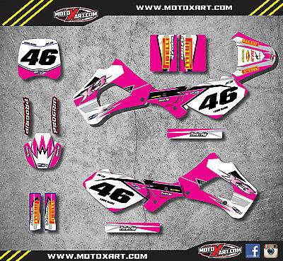 Polini X3 99-04 Full custom graphic kit SHOCKWAVE PINK style stickers / decals