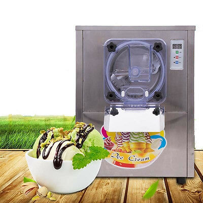 220V Commercial Hard Ice Cream Machine 20L/h Stainless Steel Ice Cream Maker